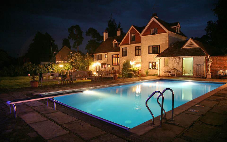swimming pool at night 2