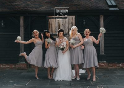 stables bridesmaids